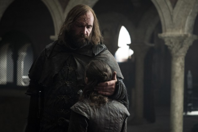 The Hound Arya Stark The Bells