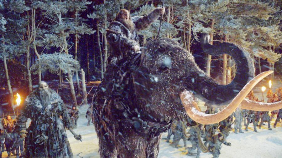Wall - Battle 4x09 (4) Mammoth Giant