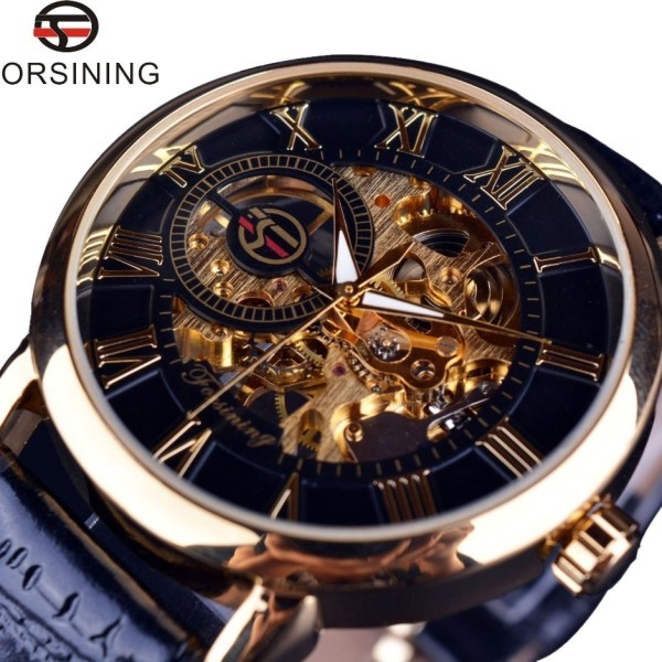 Hollow Engraving Mechanical Watches