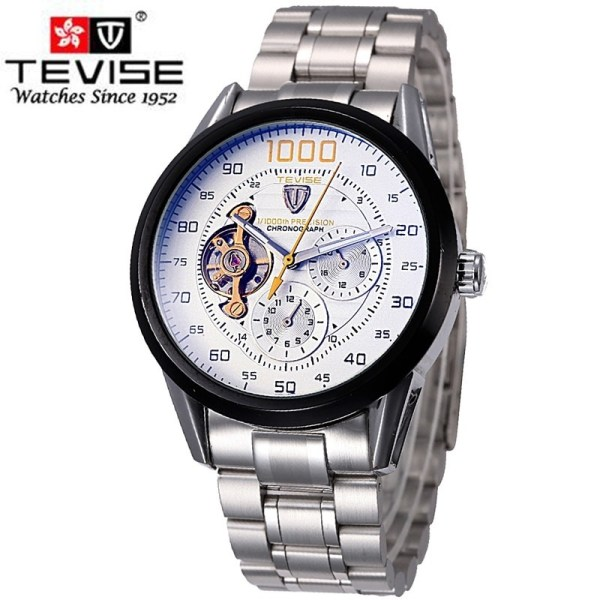 Men Watches Mechanical Skeleton Watch