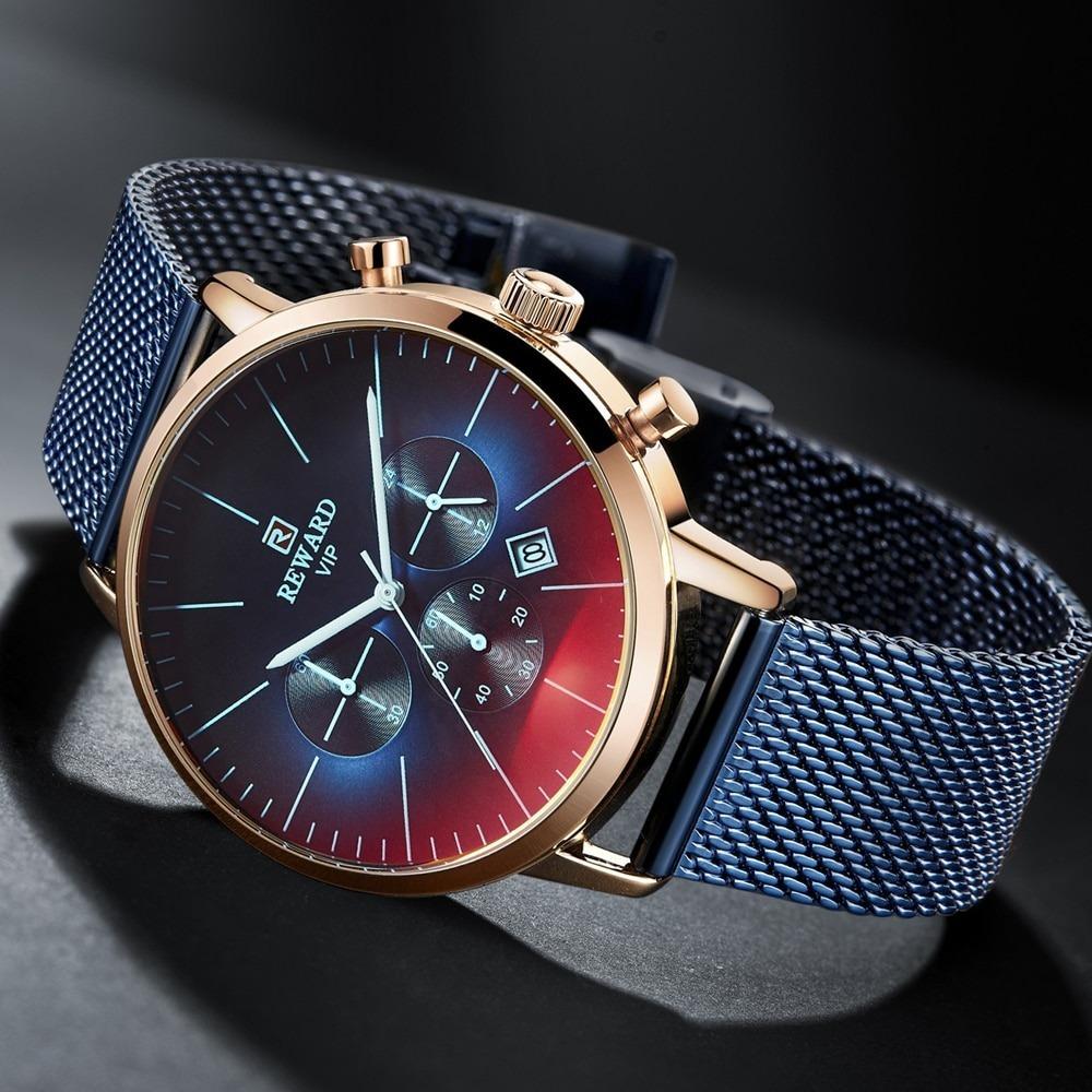 Bright Glass Watch Men