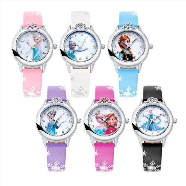 Children Watch Princess Watches