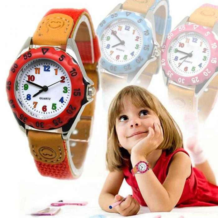 Cute Boys Girls Quartz Watch5