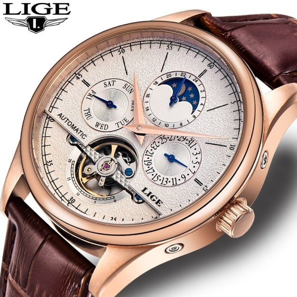 Mechanical Watch Casual Business Retro Wristwatch