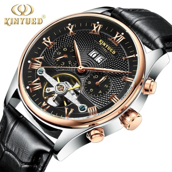 Skeleton Watches Tourbillon Mechanical Watch