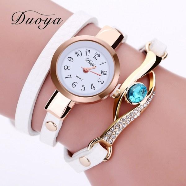 Dress Watches Women Gold Bracelet