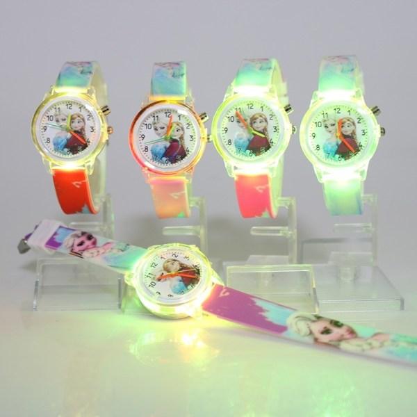 Elsa Children Watches Colorful Child Watch