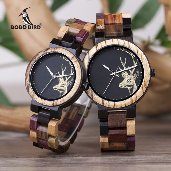 Lover Quartz Watch Wooden Watches