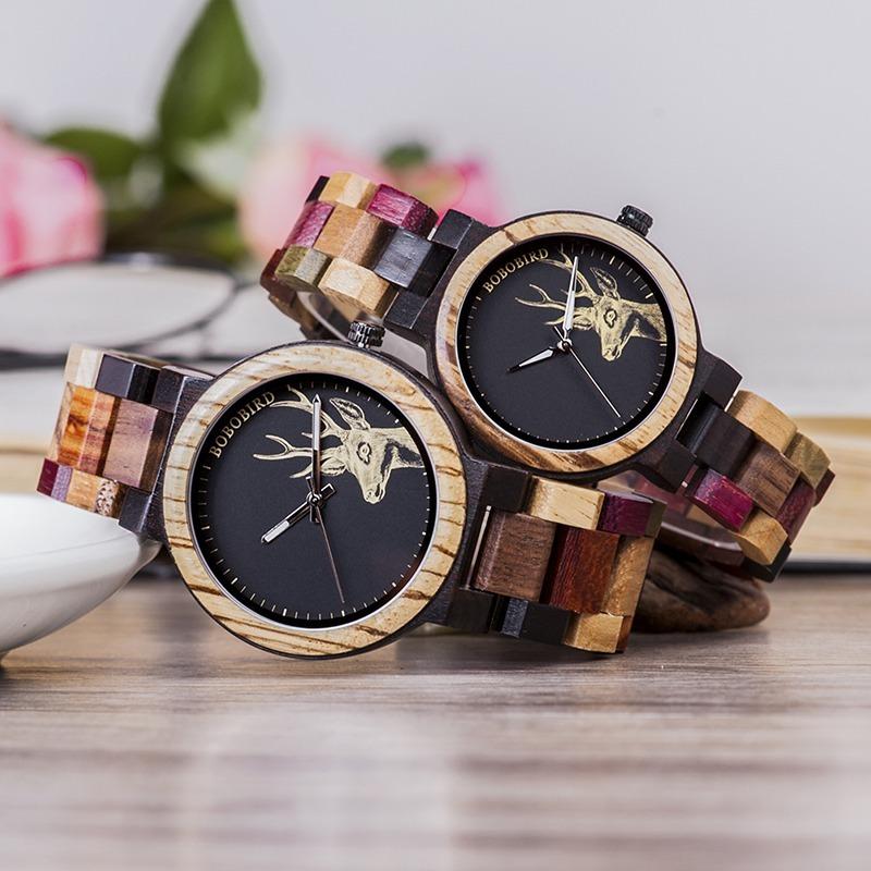 Lover Quartz Watch Wooden Watches