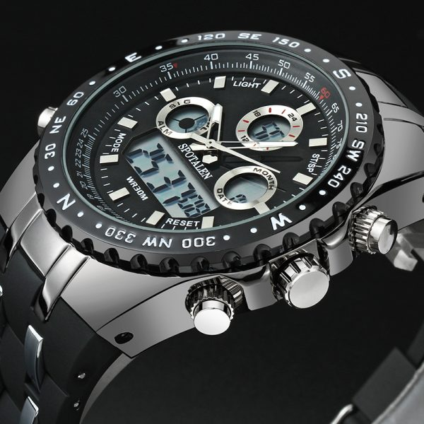 Luxury Sport Watch Military Digital LED Watches