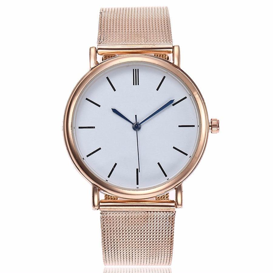 Mesh Quartz Watch Women Dress Watches