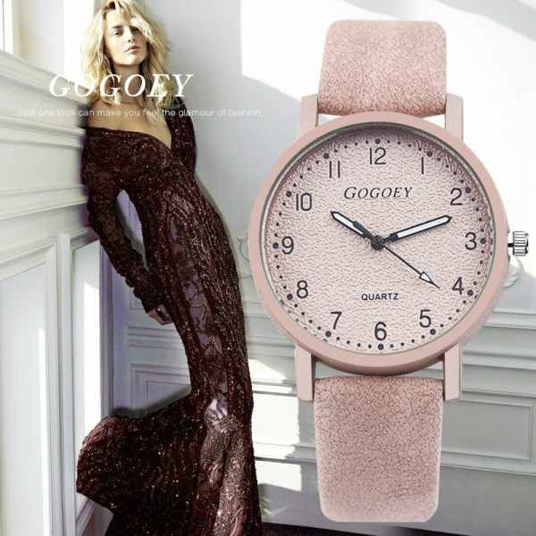 Women's Watches Leather Wrist Watch