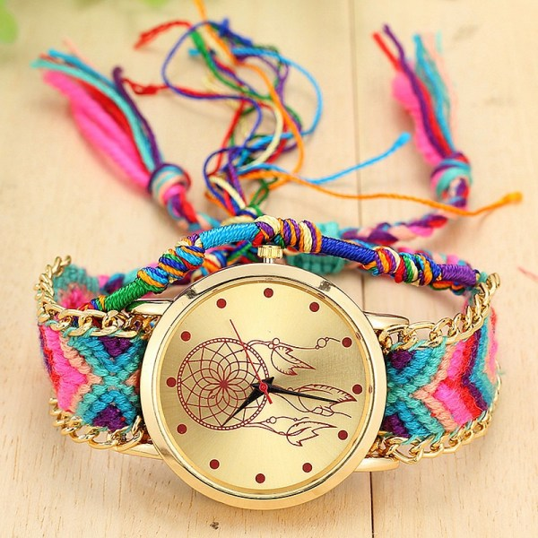 Women Native Handmade Quartz Watch