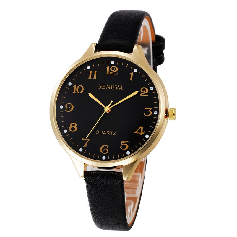 Wrist Watches Geneva Quartz Watch