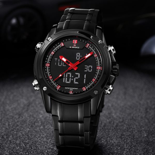 Men's Quartz Hour Analog LED Sports Watch