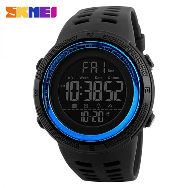 Men's Sports Watches Digital LED Military Watch