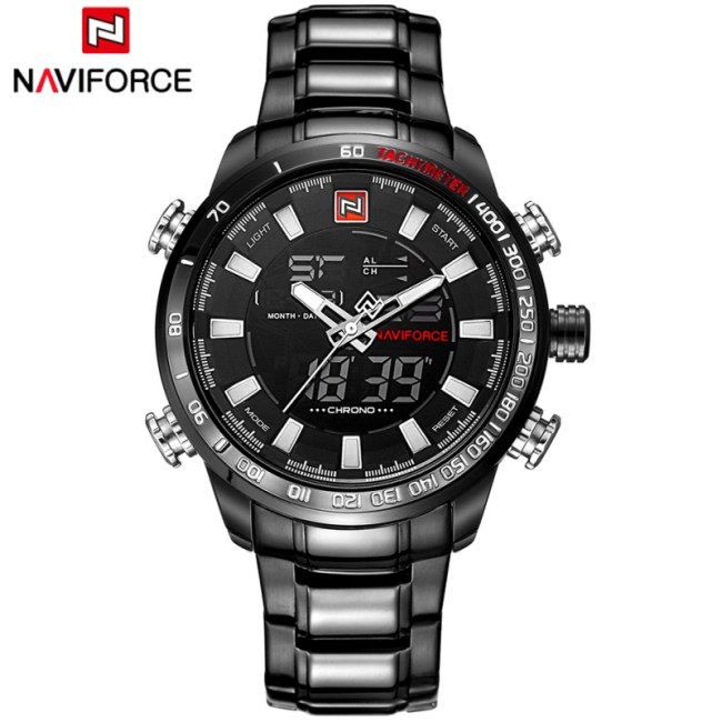 Men Military Sports Watches Full Steel Wrist watch