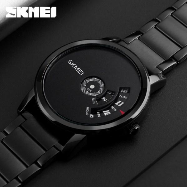 Men Quartz Watch Luxury Creative Steel Watches