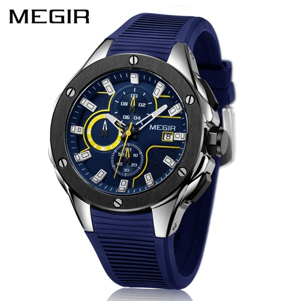 Men Sport Watch Strap Quartz
