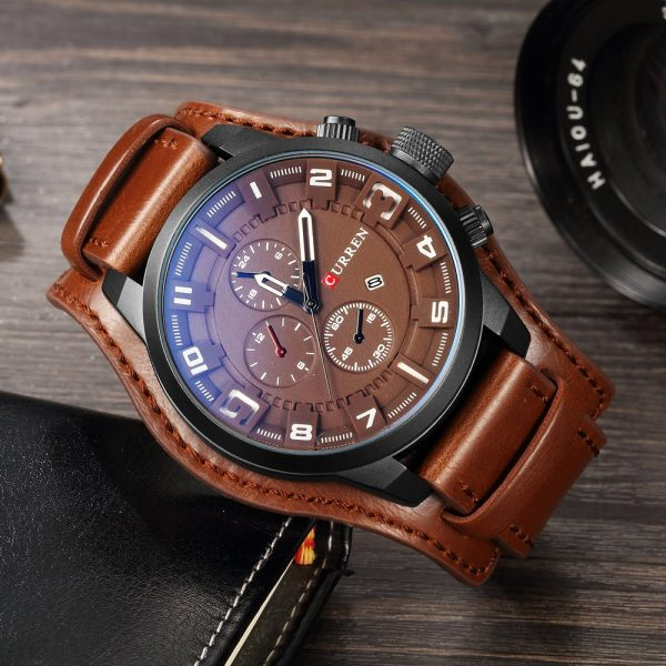 Men Watches Fashion Male Clock