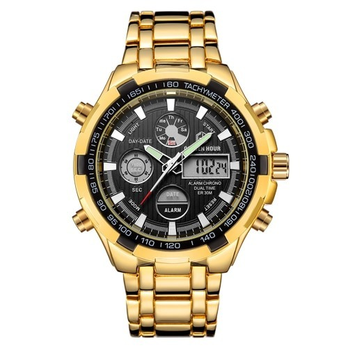 Military Sport Watches Digital Quartz