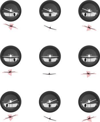 De la cabina a la muñeca. Inspirado en la instrumentación de las cabinas de pilotaje, el flamante medidor de tiempo evoca una de las funciones principales de los instrumentos de a bordo: la simetría del vuelo, misma que permite visualizar la inclinación y porcentaje de giro del avión.