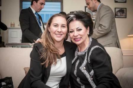 Nicole Kramer, Directora de Marketing de Baume & Mercier, platicó con su amiga Blanca Plaza, Presidente & CEO de Watches World.