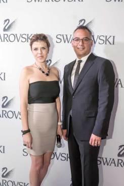 Swarovski Crystal Forest (7086) Fiel a su tendencia a la innovación, Swarovski modificó el concepto de su boutique ubicada en Antara Fashion Hall. Lorena Rodríguez, Directora de Marketing y Gregorio Jiménez, Director General, al término de las tradicionales palabras.