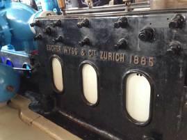 Máquinas que dieron luz a Ginebra