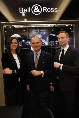 Carlos Rosillo, CEO de Bell & Ross, inauguró la boutique número 13 de la casa relojera