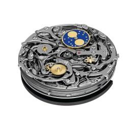 Royal Oak Offshore Grande Complication Calibre 2885 / Funciones: repetidor de minutos, calendario perpetuo, cronógrafo con ratrapante, fases de Luna, horas, minutos y pequeño segundero