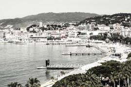 Atmósfera en la ciudad francesa de Cannes