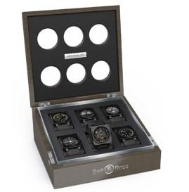 Caja exclusiva para colección Aviation, disponible a través de las boutiques de la marca o puntos de venta autorizados
