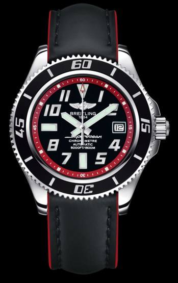 Superocean 42 / red leather