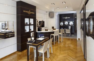 Boutique Ulysse Nardin, Quai des Bergues.