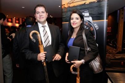 Manuel Ramírez y Marcela Cavazos.