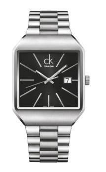 GENTLE // líneas geométricas de la década de 1960. Disponible para hombres y mujeres, ck gentle ck es un reloj liso y elegante, con un toque retro.
