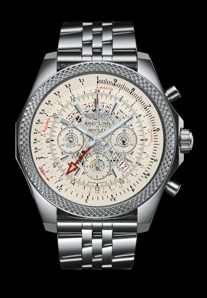 Breitling B04-GMT Acero inoxidable.
