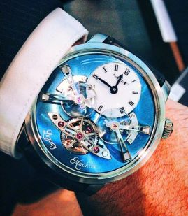 Legacy Machine No2 en México, MB&F #WatchesWorld.