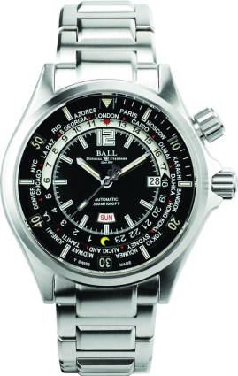 Engineer MasterII Diver Worldtime con disco de 24 horas.