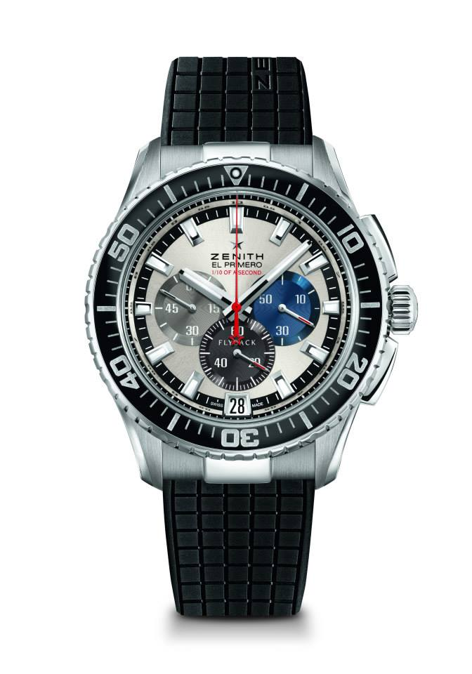El Primero Stratos Flyback Striking 10th Tribute to Felix Baumgartner.