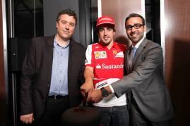 Hublot y Ferrari, dos años juntos.