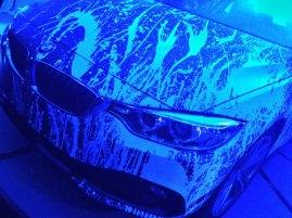 BMW presenta la obra del artista contemporáneo Aldo Chaparro.