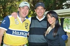 Paco Davo, Sergio Steren y Maricarmen Sandoval.