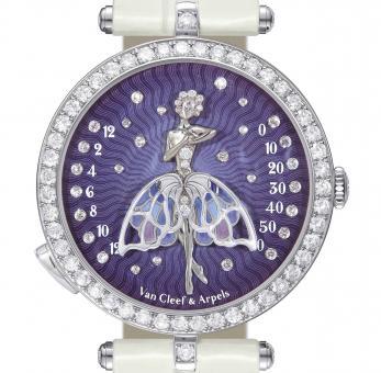 LADIES' COMPLICATIONS WATCH PRIZE Van Cleef & Arpels Lady Arpels Ballerine Enchantée