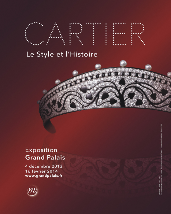 Tiara Cartier Paris, 1914, Vincent Wulveryck, Cartier Collection © poster Rmn-Grand Palais.