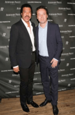 Lionel Richie con Emmanuel Perrotin