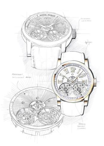 Hommage Double Flying Tourbillon.