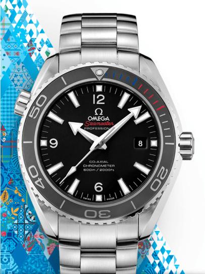 "OMEGA Seamaster Planet Ocean 45.5 mm ""Sochi 2014 "" Limited Edition"