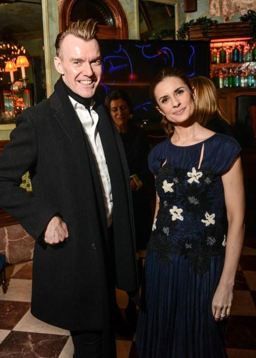 Ken Downing y Livia Firth